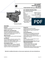 Caterpillar C32 Engine Specifications