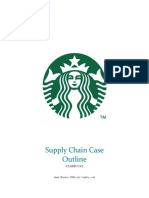Supply Chain Case Outline