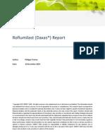 Roflumilast Report 26 November 2009 - ToC - CBDMT