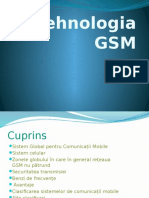 Tehnologia GSM - Prezentare PPT