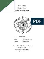 Bisnis Plan Bengkel Motor