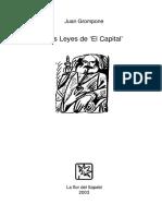 Leyes de EL CAPITAL Juan Grompone