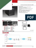 ACTI ENR-140 Datasheet