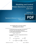 Single-phase converter systems containing ideal rectifiers