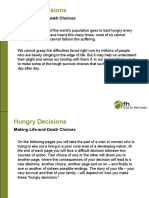 hungry decisions decision tree ppt