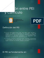 Relación Entre PEI y Currículo