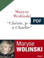 Maryse Wolinski Cherie Je Vais a Charlie