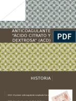 Anticoagulante Acd