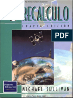 Prec+ílculo - 4ta Edici+¦n - Michael Sullivan