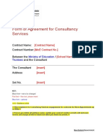 Agreement form