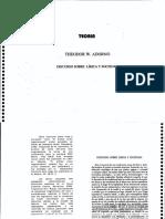 Adorno Theodor - Discurso Sobre Lirica Y Sociedad.pdf