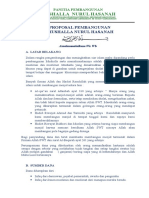 Panitia Pembangunan Mushalla Nurul Hasanah