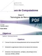 Arquitectura de Computadores-Memorias