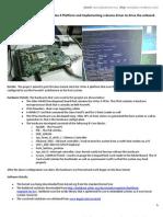 Project_SOURI GUHA_Linux Port on Virtex4(PowerPC)