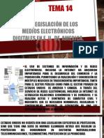 Equipo 14 Uso y Legislación de Los Medios Electrónicos Digitales en E. U. de AMERICA