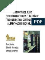 CENAM Ruido Electromagnetico