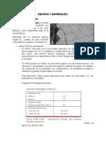 Equipos y Materiales Voladuras.