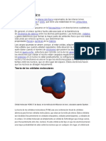 Enlace químico, trabajo de informacion