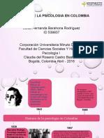 Historia de La Psicologia en Colombia