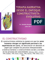 Terapia Narrativa Desde El Enfoque Constructivista-evolutivo