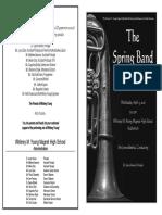 2016 spring program