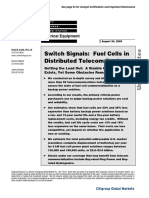 CitiGroup Fuel Cell Study 2005