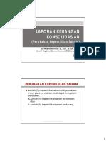08-LK Konsolidasian - Perubahan Kepemilikan (Rev-2015)