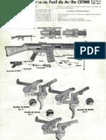 Descripcion Abreviada Del FUSA CETME 7,62mm