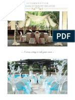 Furama Waterfronnt Solemnisation Package 2015