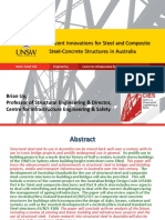 3 Recent Innovations for Steel and Composite Steel-Concrete Structures in Australia