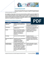 Hoja Informativa Estrategia ESalud de La OPS 2013