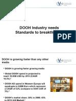DOOH Industry needs Standards to breakthrough