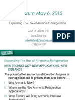 Expanding the Use of Ammonia Refrigeration