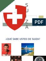 Diapositivas cultura de la calidad Suiza