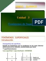 Unidad III. Fenómenos de Superficie