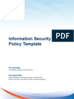 Info Security Policy Template v1 0
