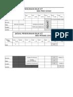 Jadual Penggunaan Bilik Ict