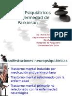 Aspectos Psiquiátricos de La Enfermedad de Parkinson