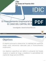 Capital de Riesgo Caso. Financiamiento Empresarial de Las MYPES