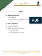 Informe Topografico_huangascar 25-30 Km