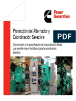 07 Alternator Protection and Selective Coordination (Spanish)