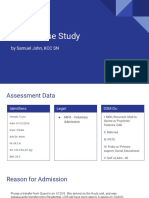 mdd-case study