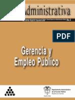 Carta Administrativa Gerencia y Empleo Público