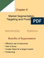 Market Segmentatio ,Targeting,Positioing