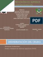 Deshidratacion de Crudos