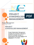 Identify Stakeholder Register