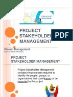 Identify Stakeholder Register