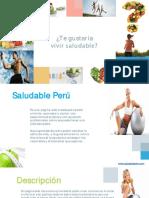 Texto Promocional - Saludable Perú