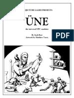 UNE (Universal NPC Emulator)