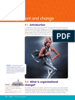 Management and Change